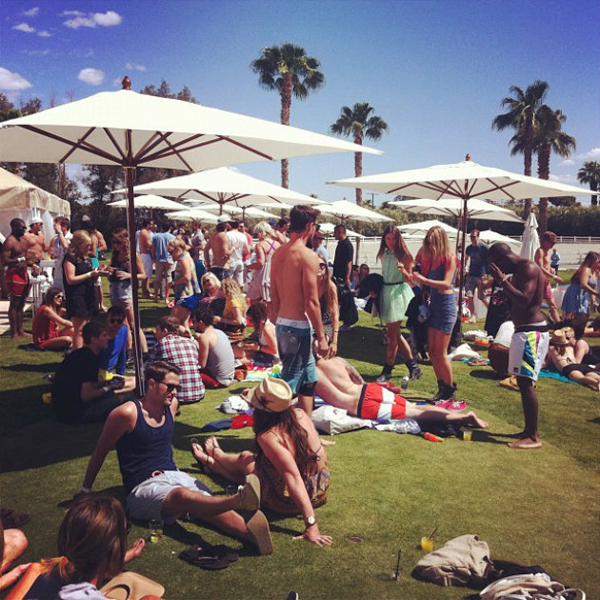 Lacoste Live Desert Pool Party
